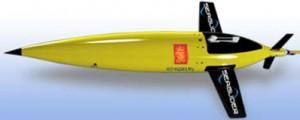 Vehículo para medición de datos oceanográficos.
