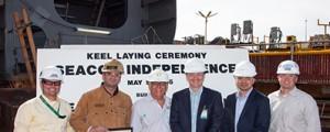 Comienza la construcción del 4º eco-petrolero americano