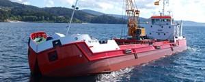 Nueva draga construida por Nodosa Shipyards