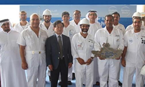 Puesta de quilla del primer eco-remolcador en los Emiratos Árabes