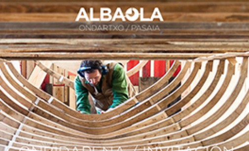 Albaola construye la réplica de una yola francesa