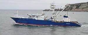 Zamakona entrega el atunero Euskadi Alai