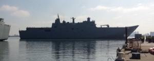 Inician las pruebas de mar del Canberra