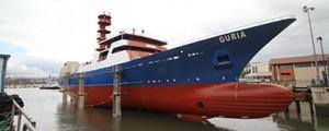 Zamakona bota el atunero Guria