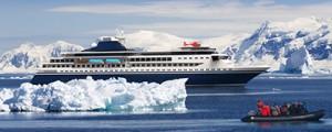 Crucero de lujo para expediciones en la zona ártica