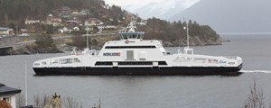MF Ampere primer barco totalmente eléctrico