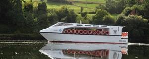 Barco de navegación fluvial ecológico para Toledo