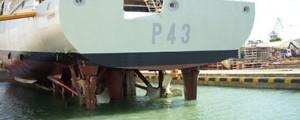 Optimización de las hélices CLT® para operación en buques militares