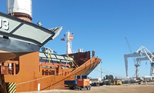 Navantia entrega las 4 primeras lanchas a Australia