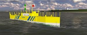 La plataforma mareomotriz BlueTEC genera sus primeros kW