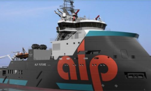 Botado el primer buque AHTS de larga distancia