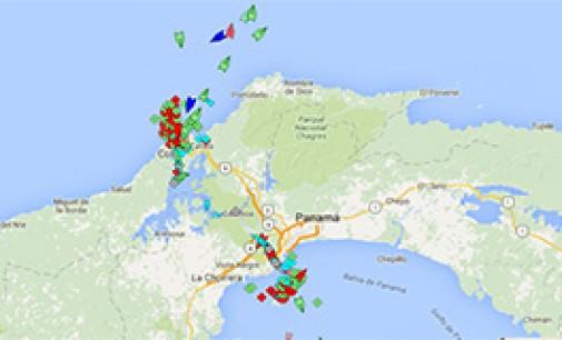 Congestión en el Canal de Panamá