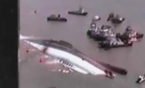 Un RoRo se hunde en aguas de Indonesia