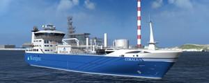 Buque de aprovisionamiento y bunker de LNG
