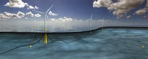 Aerogeneradores Siemens para el mayor parque eólico flotante