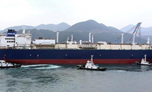 Botado el LNG más grande del mundo