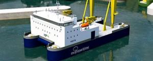 Nuevo buque de construcción offshore