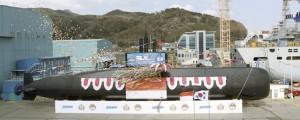 DSME bota el primer submarino para Indonesia