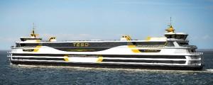 Botadura del ferry de propulsión híbrida Texelstroom