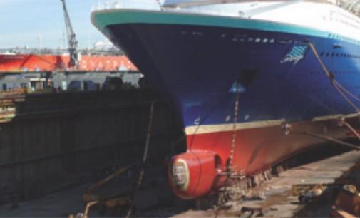 Europa ocupa el tercer puesto en la industria naval