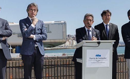 La Estación Marítima ya tiene nueva rampa flotante