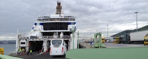 Visita al buque Cap Finistère de Brittany Ferries