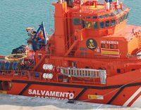 Botadura del remolcador Marta Mata para Sasemar