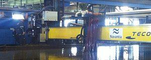Navantia inicia la construcción de los petroleros Suezmax en Puerto Real