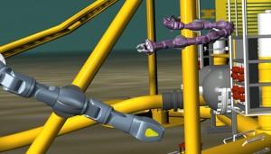 Robot para inspecciones submarinas