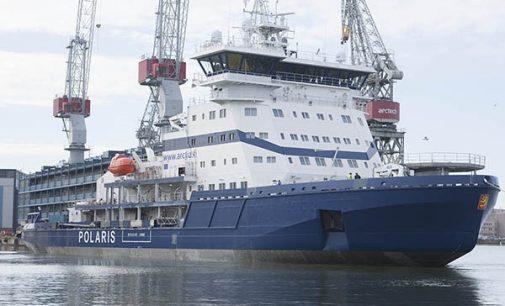 El rompehielos propulsado por LNG Polaris comienza las pruebas de mar