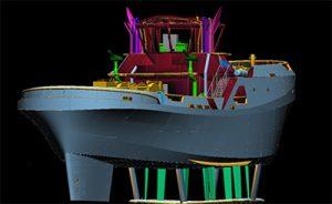 Prototipo de remolcador de Zamakona para Boluda