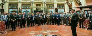 Presentación de la naviera saudita Bahri a la industria española