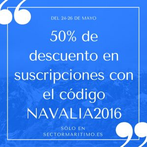 Descuento en suscripciones con el código NAVALIA2016
