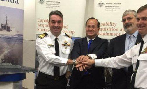 Navantia firma el contrato con Australia