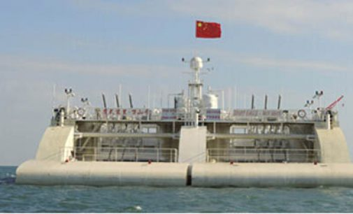 Wanshan: plataforma semi-sumergible para undimotriz