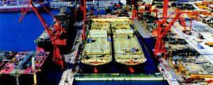 China reestructura sus astilleros por la crisis