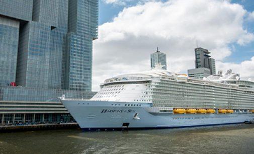 Wärtsilä propulsa el Harmony of the Seas