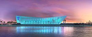 Futura terminal de cruceros en el puerto de Miami
