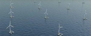 Se inicia la construcción del primer eólico flotante de Francia
