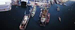 Los astilleros españoles entre las 3 principales potencias europeas