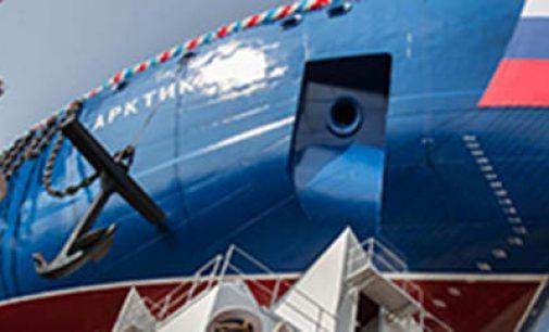 Rusia bota el mayor rompehielos de propulsión nuclear