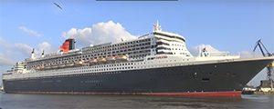 Queen Mary 2 entra en dique para su renovación