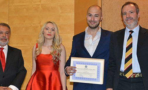 Estudiantes de la UPM ganadores de los premios Enermar