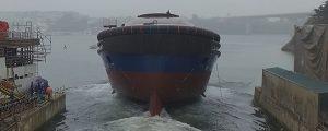 Botado el 1er remolcador dual hecho en Europa