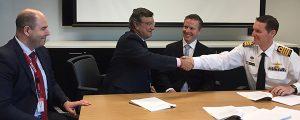 Navantia firma un relevante contrato para la prestación de servicios a la Marina Australiana