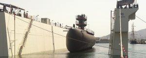 Flotadura del submarino Tramontana