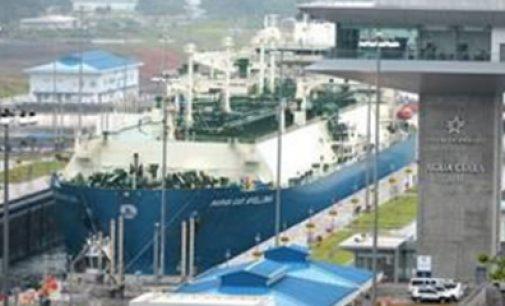 Cruza el primer LNG por el Canal de Panamá