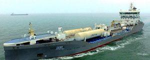 Primer quimiquero/petrolero de propulsión LNG