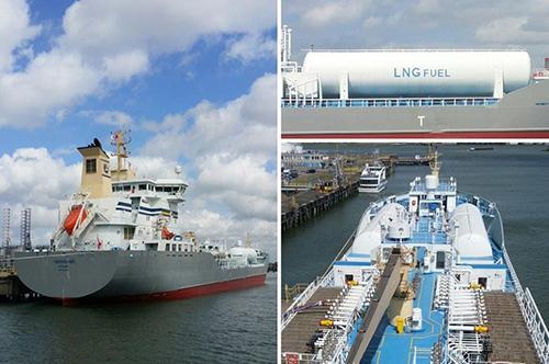 Primer buque quimiquero/petrolero de propulsión LNG, Ternsund