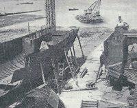 Construcción de buques de estructura soldada